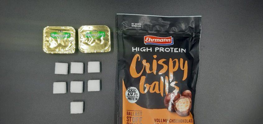 Nährwertanalyse High Protein Crispy balls von Ehrmann